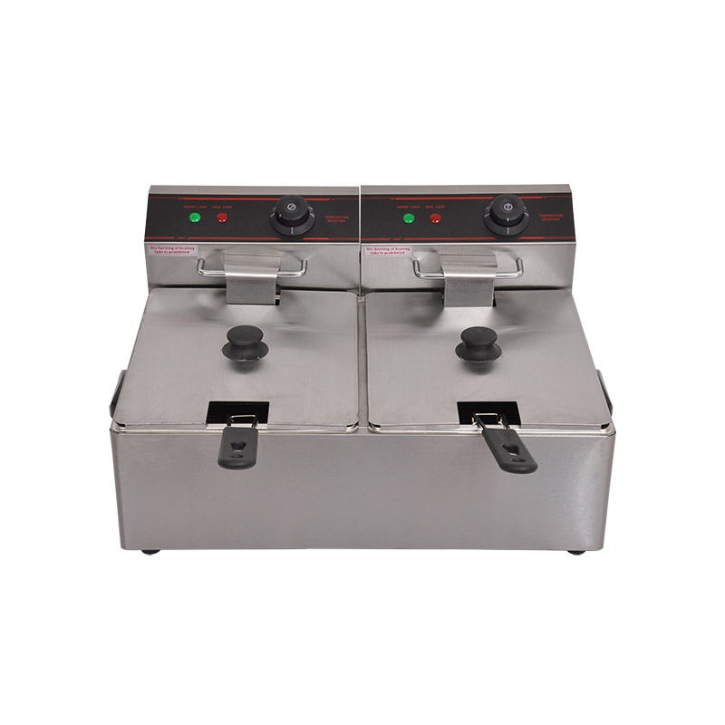 Electric Double Deep Fryer 8L×2