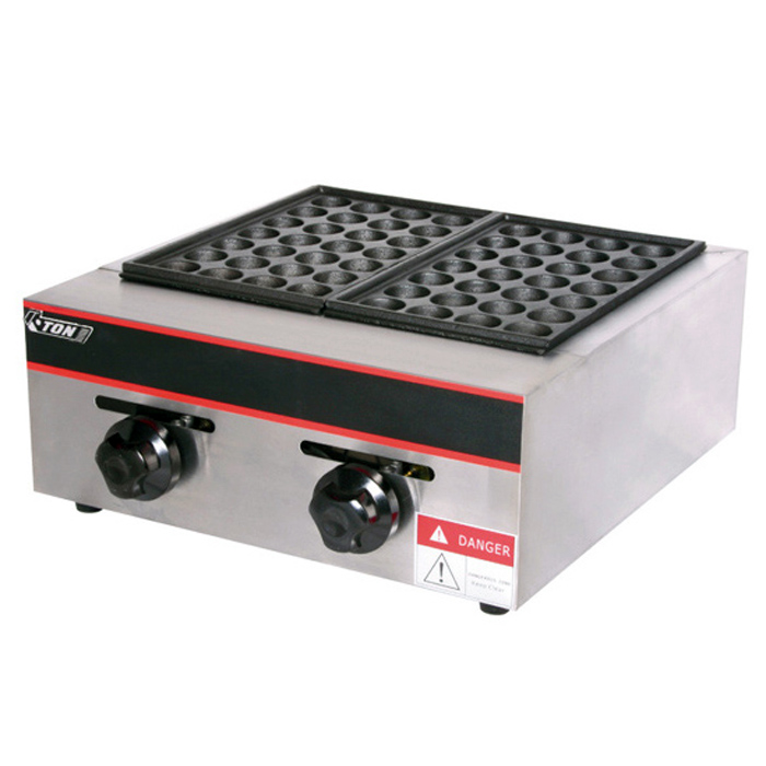 2-Head gas fish pellet grill