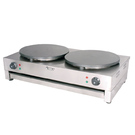 Electric crepe maker double
