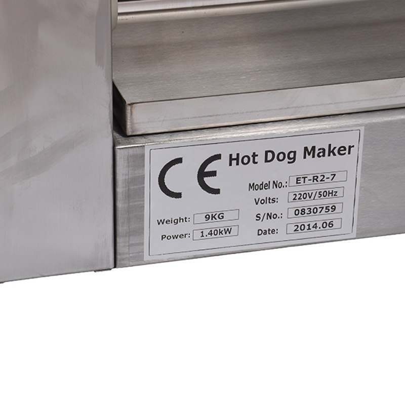 Hot dog roller with cover   (7roll) CE
