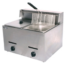 Gas fryer double